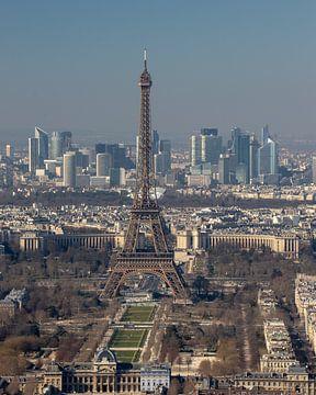 Eiffeltoren waakt over Parijs von Michaelangelo Pix
