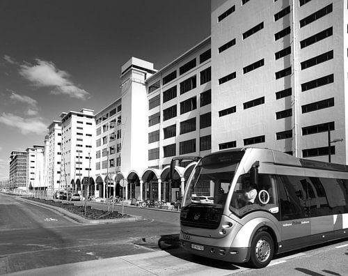 Strijp S Torenallee (Eindhoven) met Phileas bus van