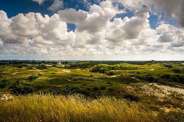 Uitzicht op de Watertoren van Katwijk sur Martijn van der Nat