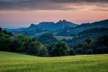 Schemering Provence, Frankrijk van