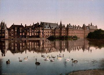 Hofvijver, Den Haag sur Vintage Afbeeldingen