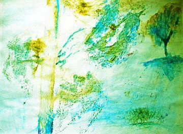 Bäume abstrakt von M.A. Ziehr