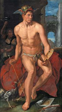 Mercurius, Hendrik Goltzius sur