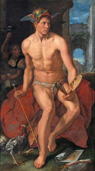 Mercurius, Hendrik Goltzius. von Meesterlijcke Meesters