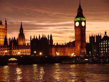 Big Ben London von Hyppy Picture