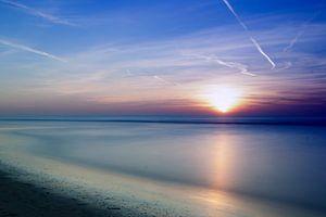 Zonsondergang Noordwijk aan zee van