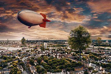 Tree houses in Rotterdam van Elianne van Turennout