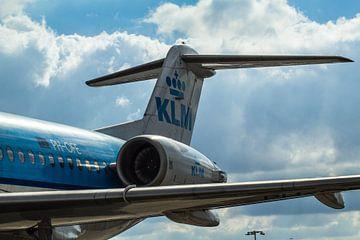 KLM vliegtuig van Gabriella Sidiropoulos