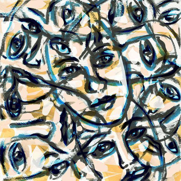 De mensheid van ART Eva Maria
