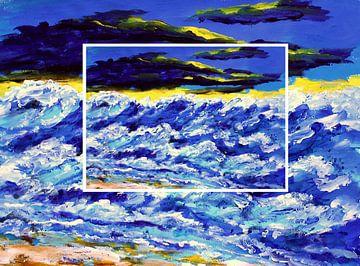 Noordzee van Eberhard Schmidt-Dranske