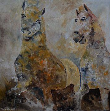 Zwei Pferde von pol ledent
