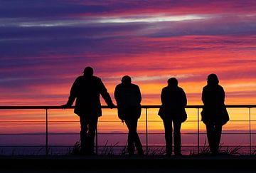 staren naar de zonsondergang von Dirk van Egmond