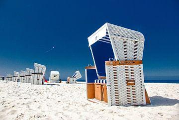 Sylt: Strandkörbe 27 + 19 von Norbert Sülzner