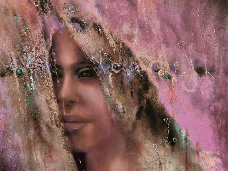 Larissa - Variante III in sanftem Violett von Annette Schmucker