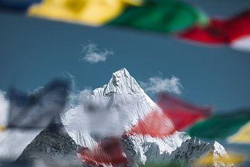 Ama Dablam (6812m) (Landschaft) von Roy Mosterd