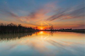 Zonsondergang van Marcel de Vos