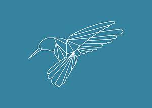 Kolibri - Grafische Tiere
