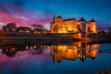 Avond in Torgau van Martin Wasilewski