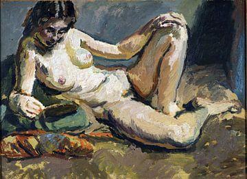 Liegender weiblicher Akt, Walter Sickert - 1906 von Atelier Liesjes