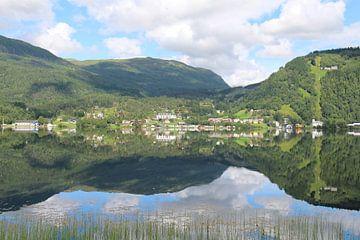 Reflectie in Noorwegen von Anouk Davidse