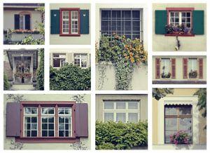 collage de fenêtres suisses