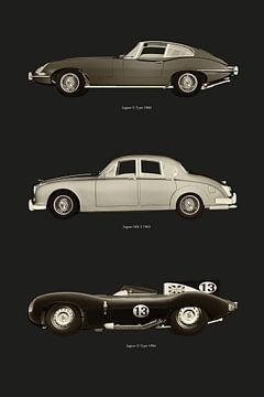 Iconische Jaguar Auto's