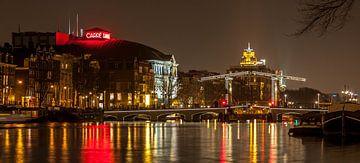 Amsterdam bij nacht van Stephan Neven