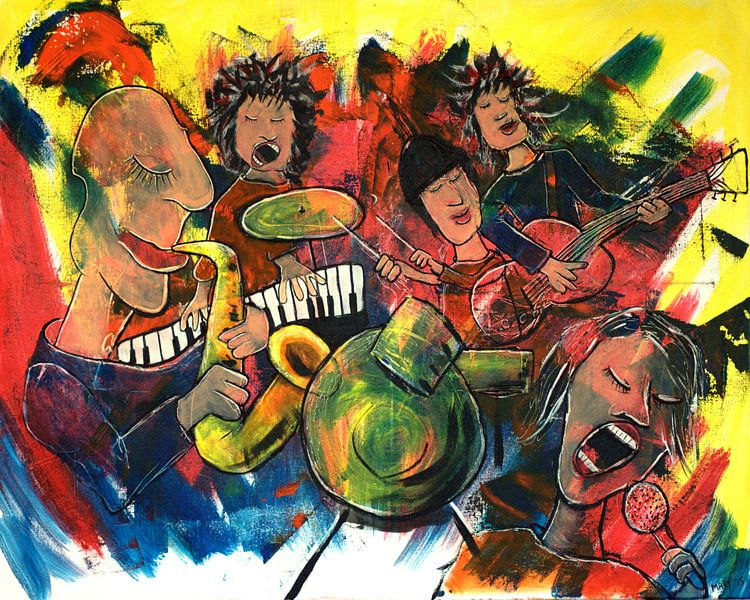 Muziek 1 van Mary Pedersen
