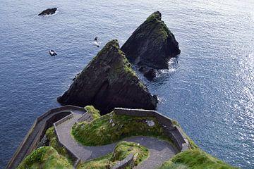 Dun Quin Pier, Ierland van Marga Verweijen