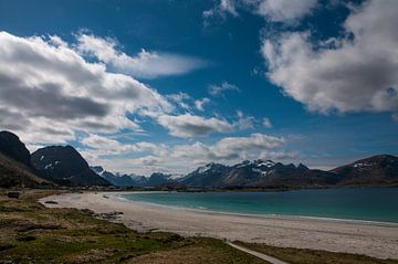 Landschap Noorwegen van Niek Belder