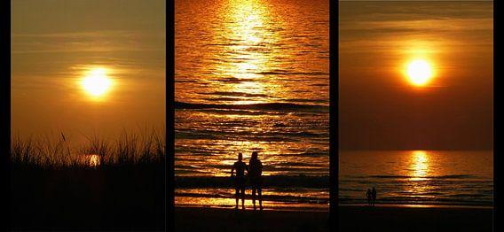Drieluik Zonsondergang