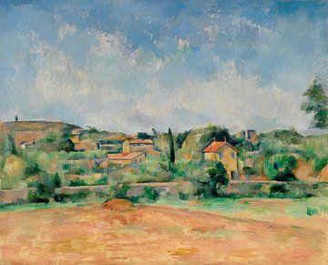 Cézanne, La Plaine de Bellevue, auch bekannt als Les Terres Rouges (ca. 1890-1892)