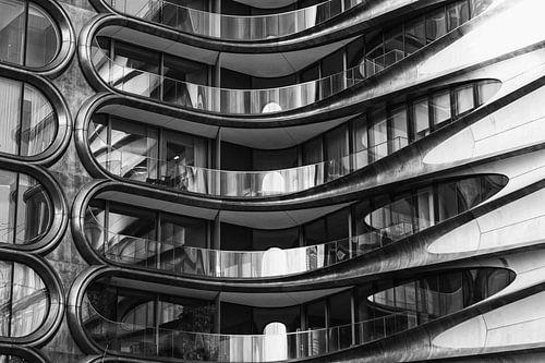 Metalen flatgebouw
