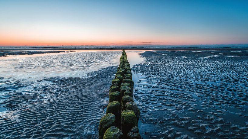 Buhne à la plage de Norderney sur Steffen Peters