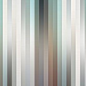 Satin Fensterläden von Wil van der Velde/ Digital Art