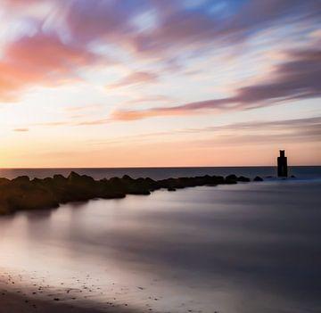 Wegträumen an der Küste von Oudorp von Marjolein van Middelkoop
