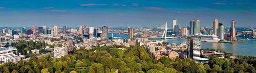 Panorama Rotterdam vanaf de Euromast van Anton de Zeeuw
