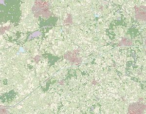 Kaart vanHof van Twente
