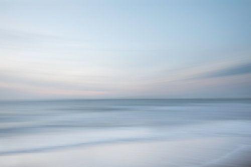 Pastel aan de kust van