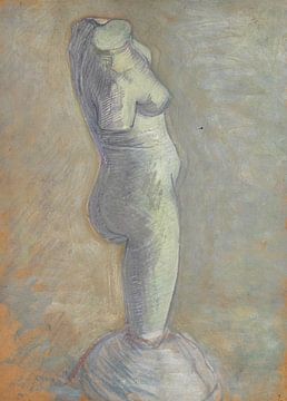 Studie eines Frauentorsos aus Gips, Vincent van Gogh