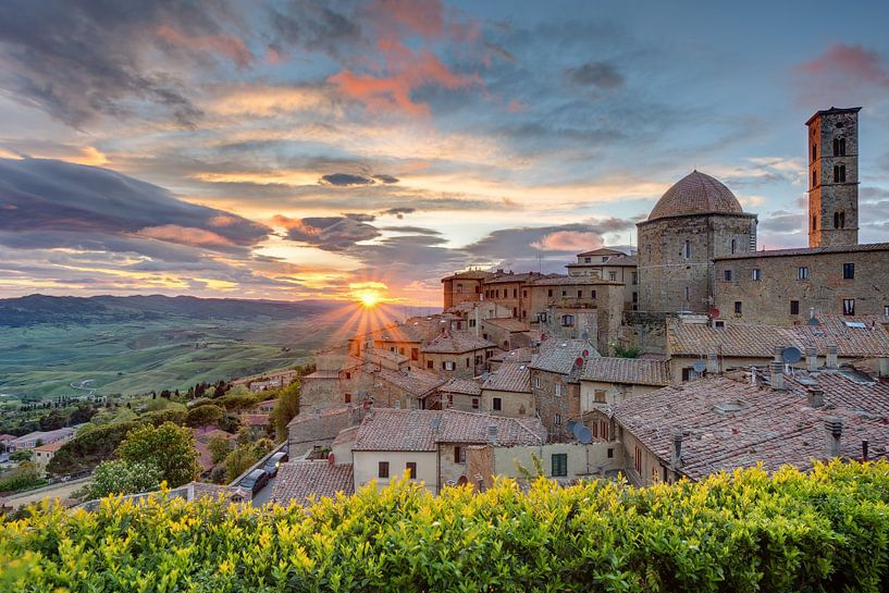 Volterra in Tuscany sur Michael Valjak