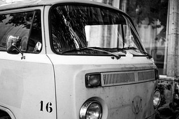 Volkswagen Kleintransporter T2 Detail von Maureen Materman
