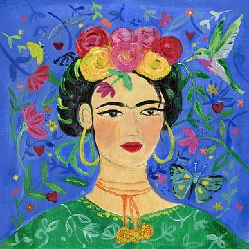 Frida blauw, Farida Zaman van Wild Apple