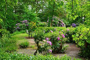 Springtime in the Public Park van Gisela Scheffbuch
