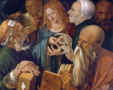 Albrecht Dürer.Jesus zwischen den Ärzten