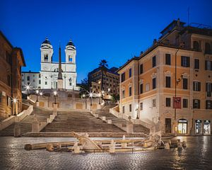 Scalinata di Trinità dei Monti - Fontana della Barcaccia van