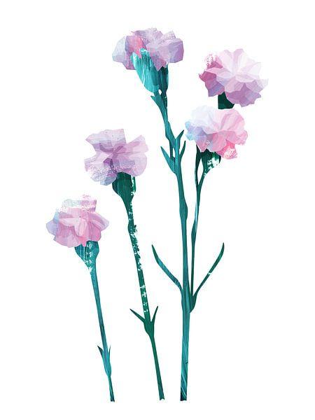 Flower Power #3 van Goed Blauw