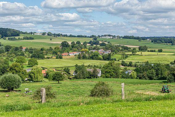 Zuid-Limburgs landschap in de buurt van Epen