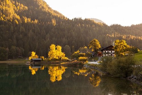 Hintersteiner See im Spätsommer van