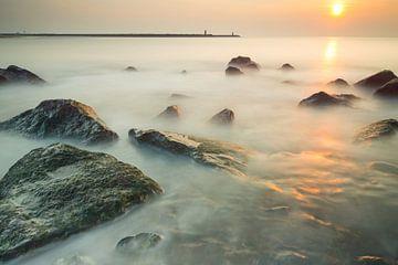 Het strand van Scheveningen - 2 von Damien Franscoise